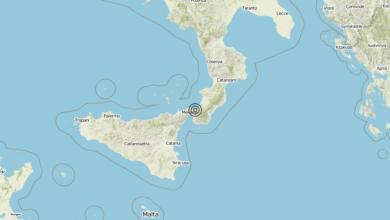 Terremoto Calabria 10-06-2019