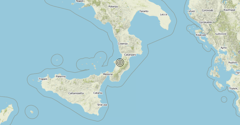 Terremoto Calabria 18-06-2019