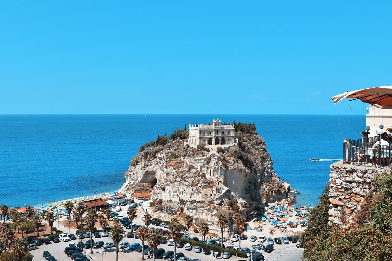 Panoramica Tropea MAdonna dell'Isola