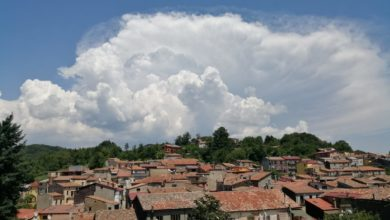 Cumuli sopra Soveria Mannelli