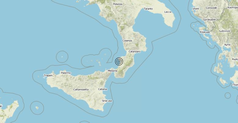 Terremoto Calabria 09-07-2019