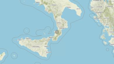 Terremoto Calabria 06-08-2019