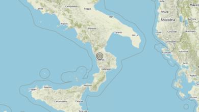 Terremoto Calabria 07-08-2019