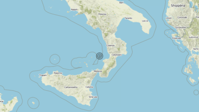 Terremoto Calabria 24-08-2019