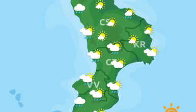 Previsioni Meteo Calabria 08-09-2019