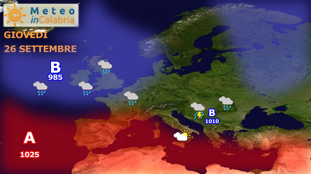 Nuvolosità variabile localmente instabile