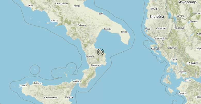 Terremoto Calabria 02-09-2019