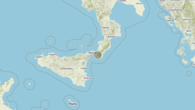 Terremoto Calabria 07-09-2019