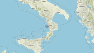Terremoto Calabria 09-09-2019