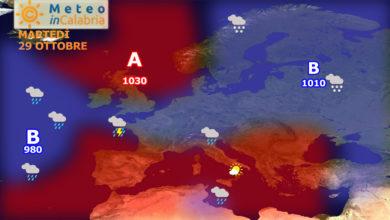 Ultimi giorni di clima mite almeno per il momento...