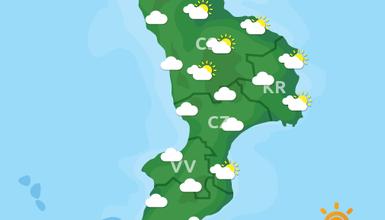 Previsioni Meteo Calabria 24-10-2019
