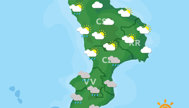 Previsioni Meteo Calabria 25-10-2019