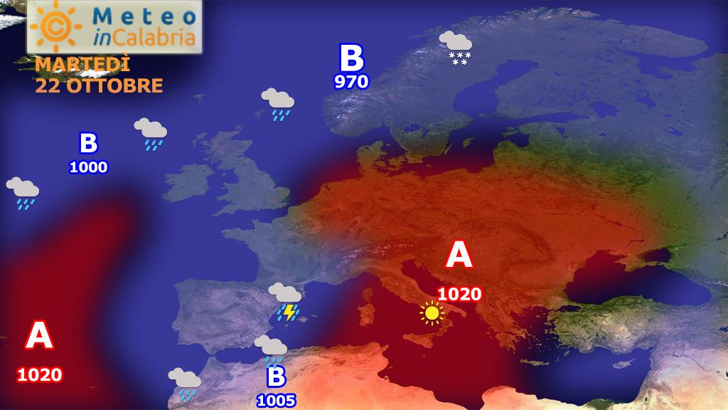 Prosegue il caldo autunno sulla Calabria