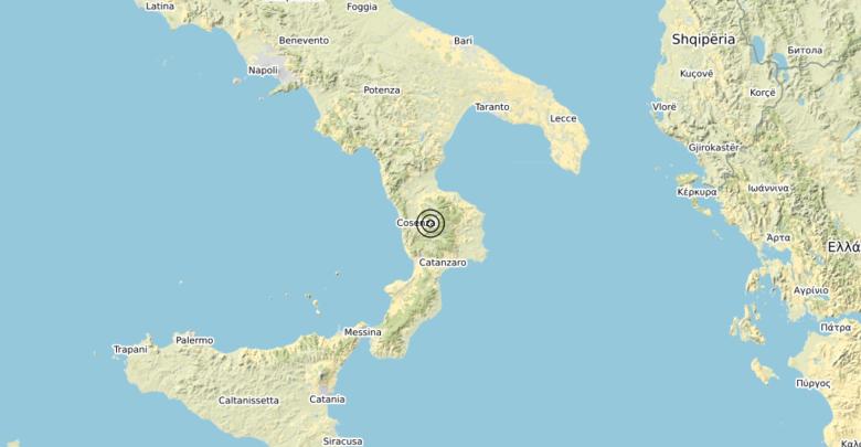 Terremoto Calabria 04-10-2019