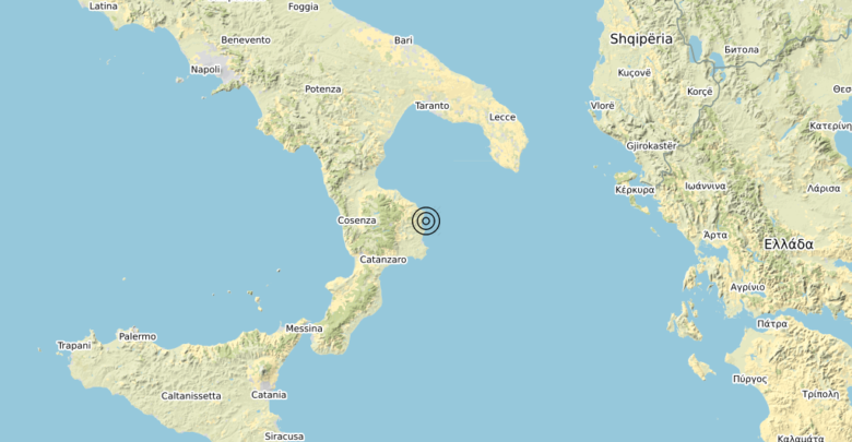 Terremoto Calabria 17-10-2019