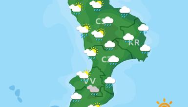 Previsioni Meteo Calabria 07-11-2019