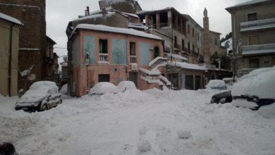 neve in sila localmente copiosa