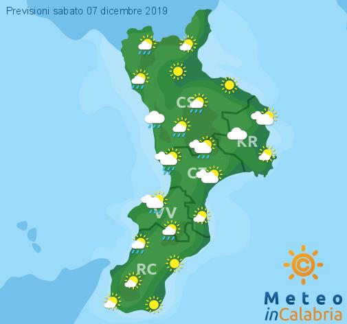 Previsioni Meteo Calabria 07-12-2019