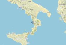 Terremoto Calabria 16-12-2019