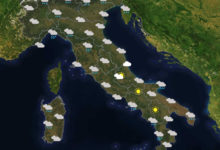Previsioni del tempo in Italia per il giorno 27/01/2020