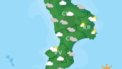 Previsioni Meteo Calabria 22-01-2020
