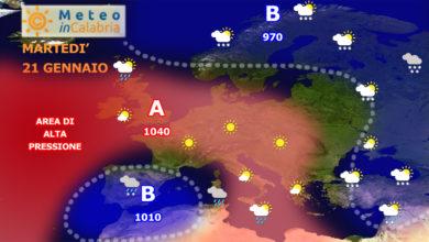 Progressivo miglioramento delle condizioni meteo