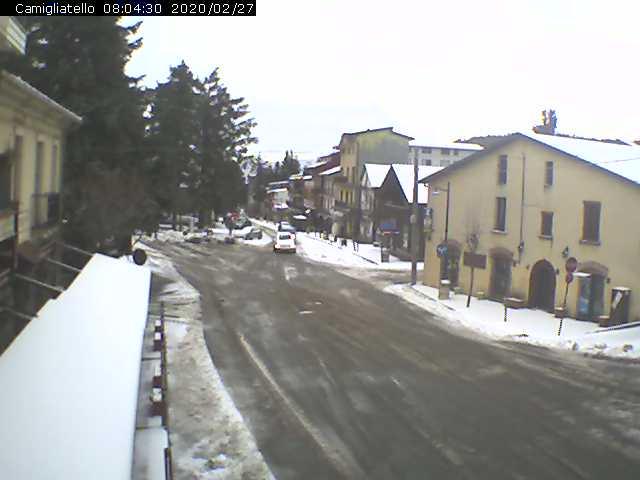 Camiglitello neve 27 febbraio 2020