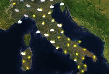 Previsioni del tempo in Italia per il giorno 17/02/2020