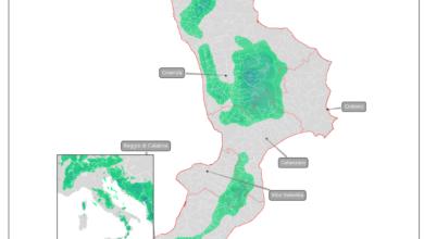 previsione mappa neve calabria 27 febbraio 2020
