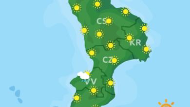 Previsioni Meteo Calabria 15-02-2020