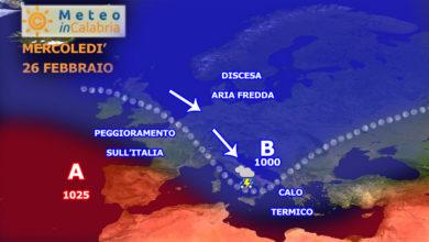 sinottica europa 26 febbraio 2020