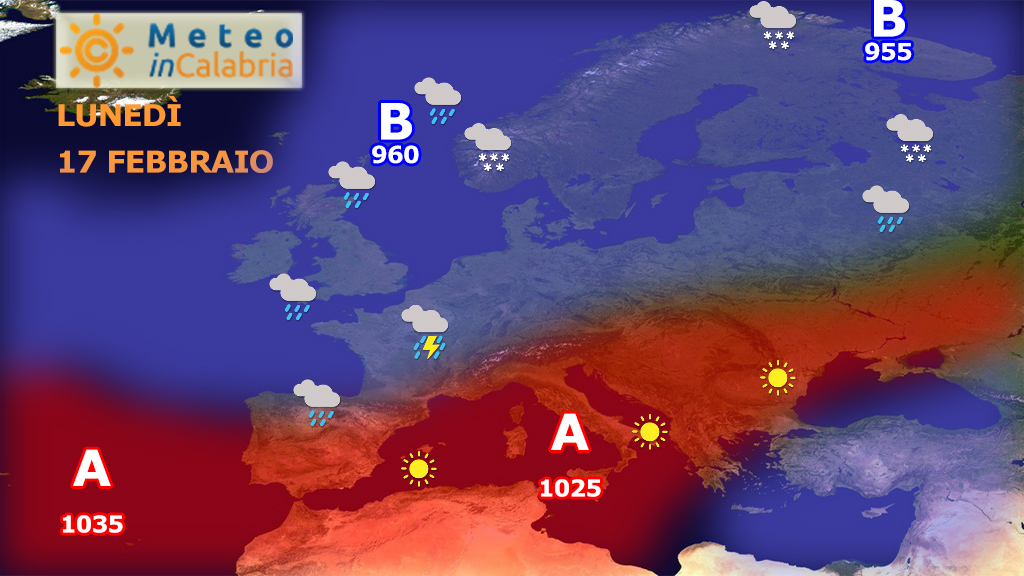 Inizio di settimana stabile con clima mite