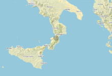 Terremoto Calabria 18-02-2020