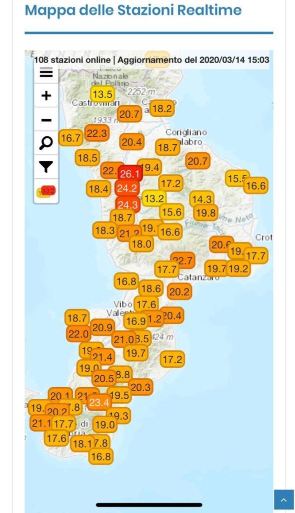 Ultime ore di clima mite
