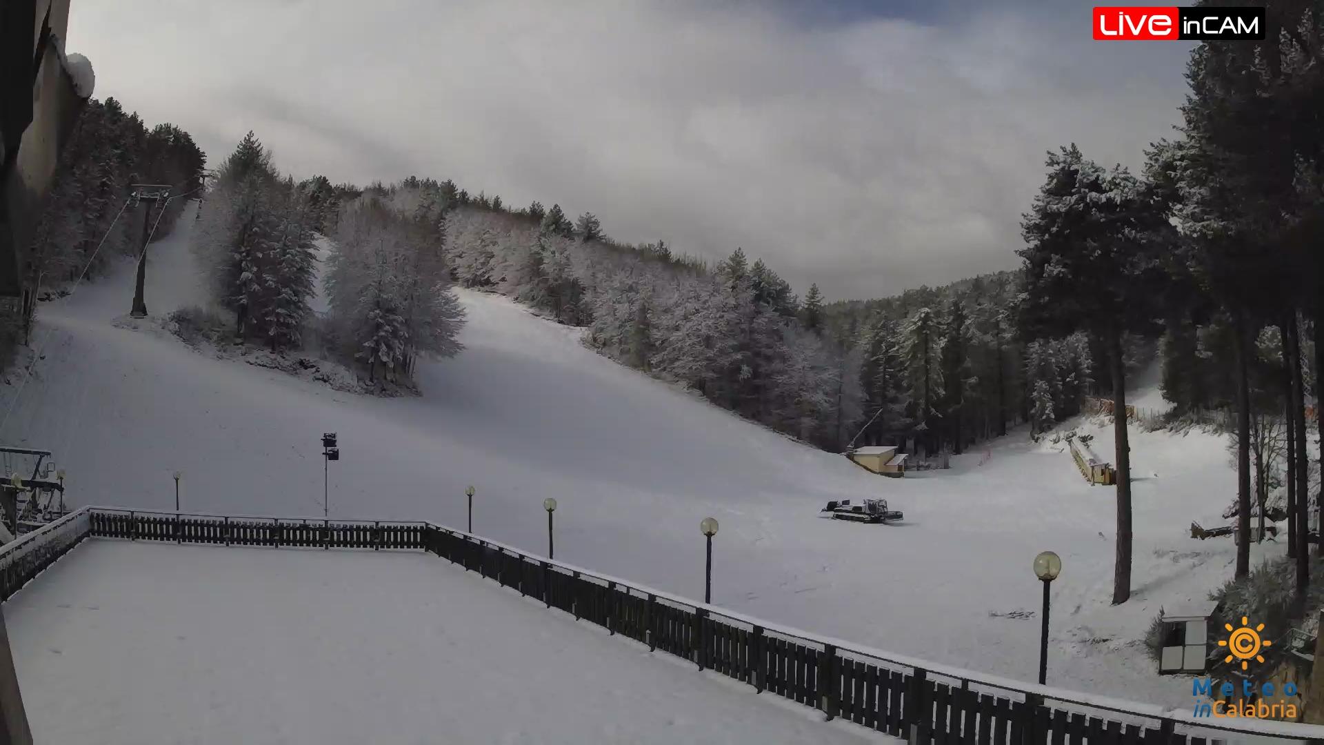 neve Camigliatello Sila 27 marzo 2020