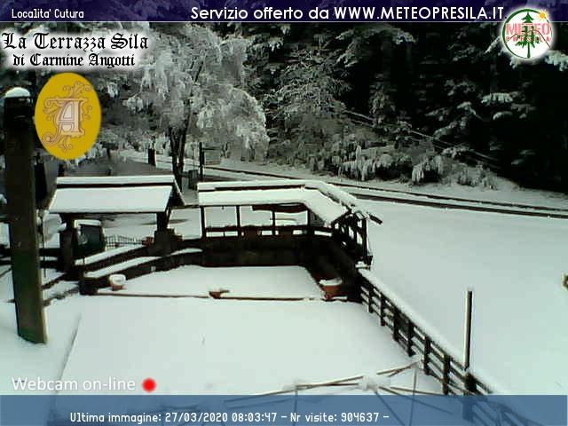 neve Cutura sila piccola 27 marzo 2020