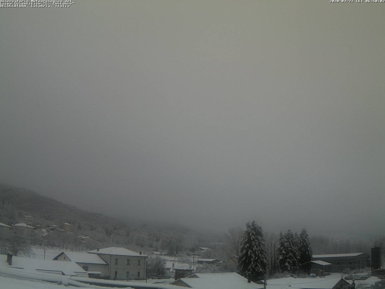 neve Decollatura 27 marzo 2020