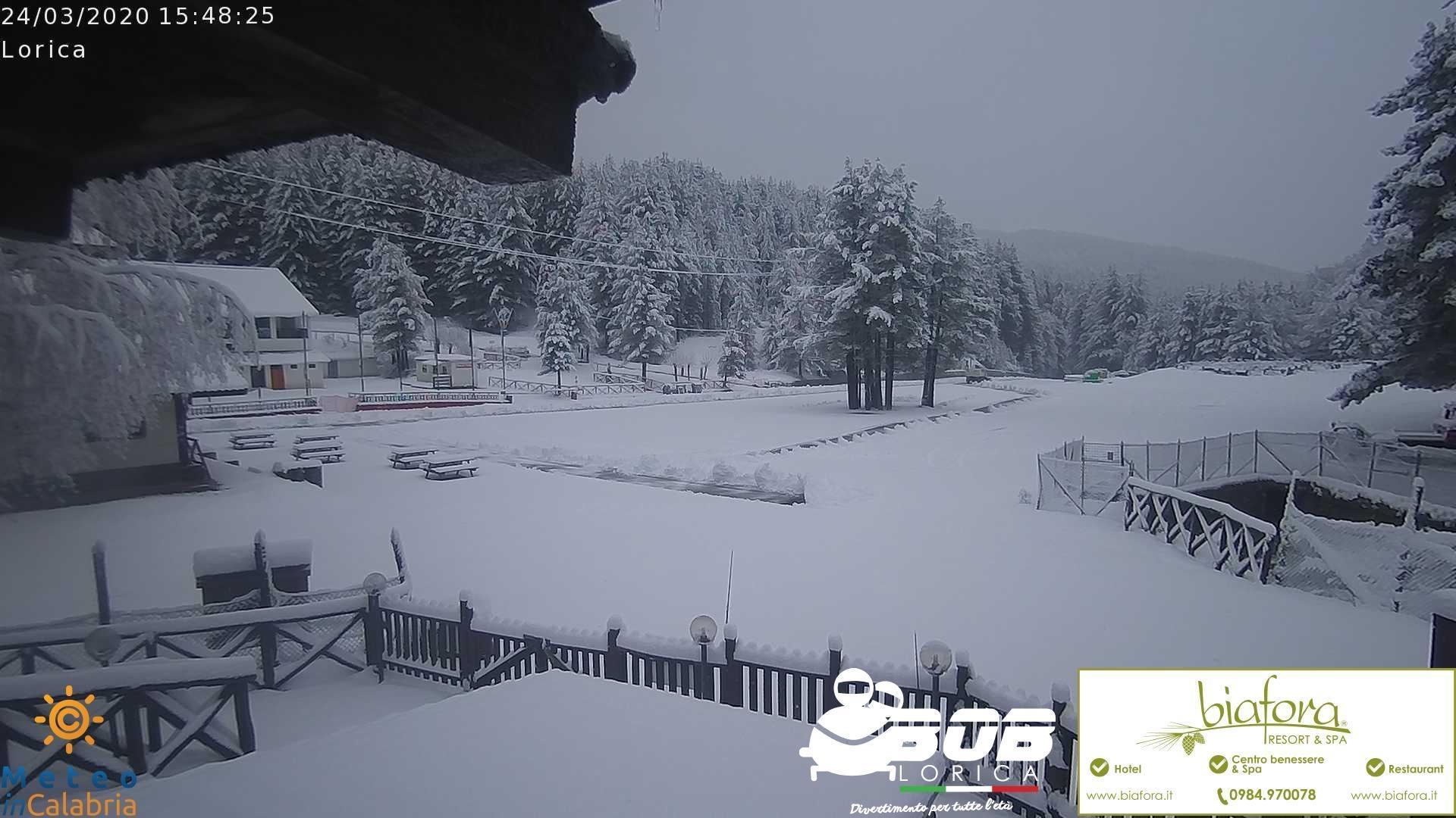 neve Lorica sila 27 marzo 2020