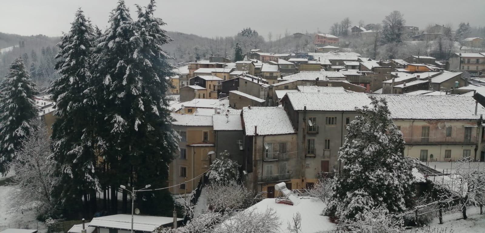 neve Soveria Mannelli 27 marzo 2020