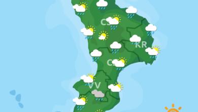 Previsioni Meteo Calabria 31-03-2020