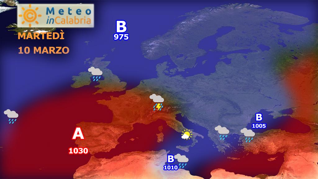 Nuova fase stabile per il Mediterraneo centrale