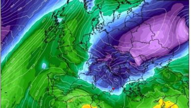temperatura 850 hPa europa