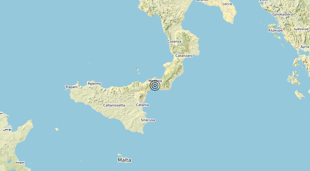 Terremoto Calabria 07-03-2020