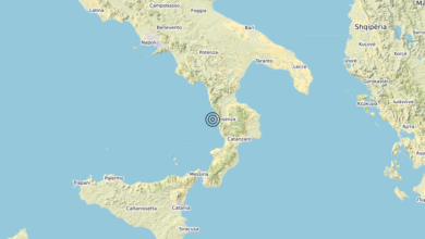 Terremoto Calabria 11-03-2020