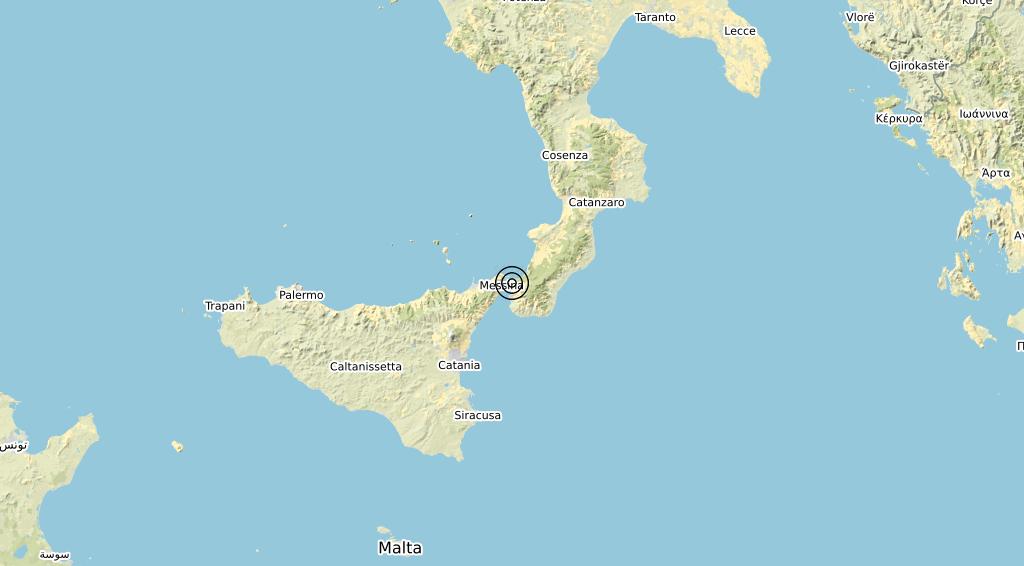 Terremoto Calabria 14-03-2020