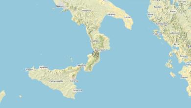 Terremoto Calabria 23-03-2020