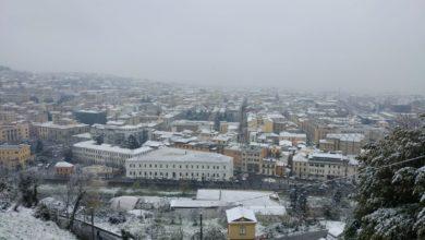 Neve Cosenza 25 marzo 2020