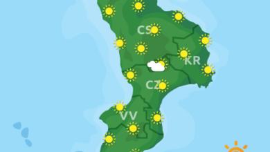 Previsioni Meteo Calabria 09-04-2020