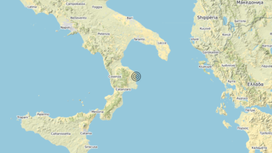 Terremoto Calabria 02-04-2020