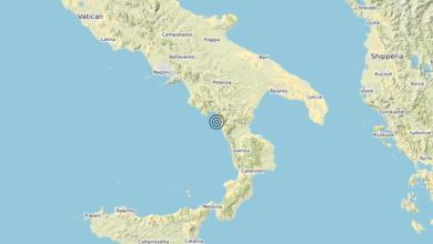 Terremoto Calabria 19-04-2020